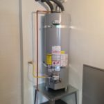 water installation heater