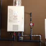 installation water heater